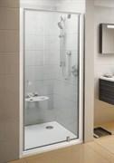 Дверь душевая Ravak PDOP1-80 белая/белая + Транспарент
