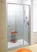 Дверь душевая Ravak PDOP2-100 белая/белая + Транспарент