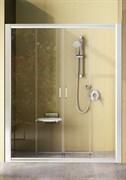 Дверь душевая Ravak NRDP4 -190 белая + Грейп