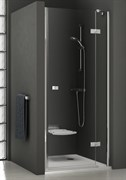 Дверь душевая Ravak SMSD2-100 B-L хром + Транспарент