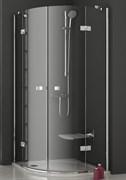 уголки полукруглые SMSKK4-90 хром + Транспарент